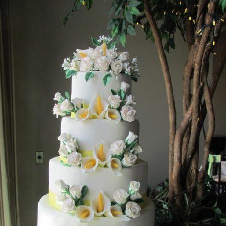 Jenna's Wedding Cake