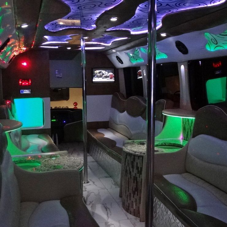 Red Star Party Bus
