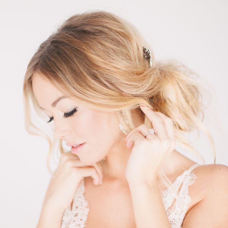 Wedding makeup by jasmine hoffman