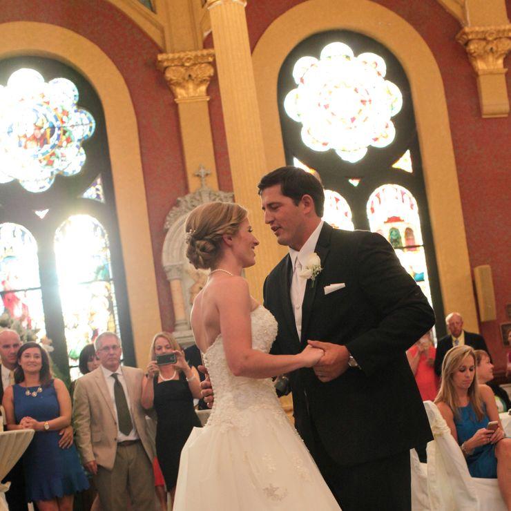Carolyn and Michael's elegant wedding