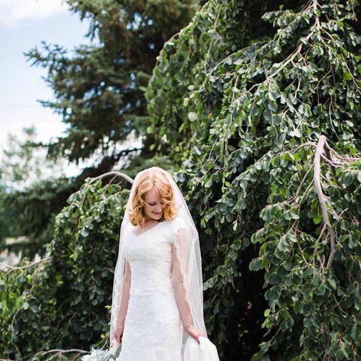 Bride: Rebecca  wearing Olivia+Olivia