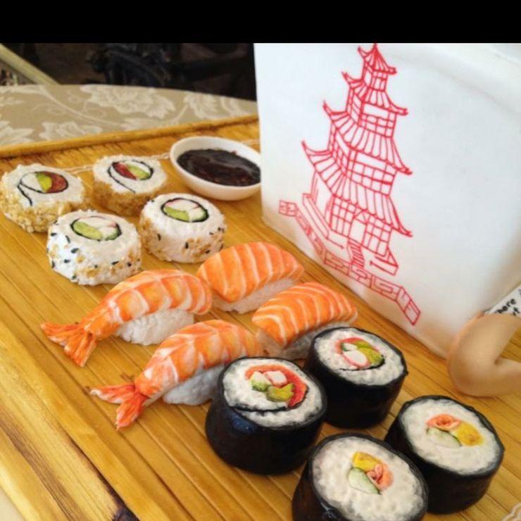 Sushi take-out