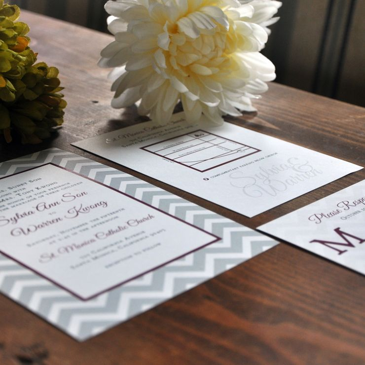 Fig and Fall Wedding Invitation
