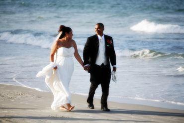 Marine wedding photo session ideas