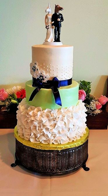 Themed wedding cakes