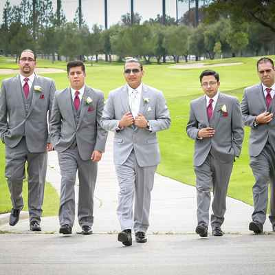 Grey wedding photo session ideas