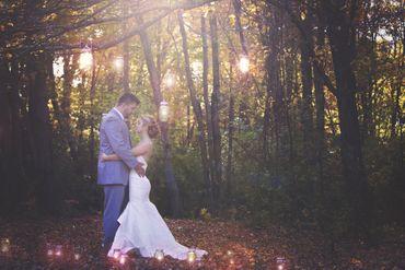 Autumn long wedding dresses