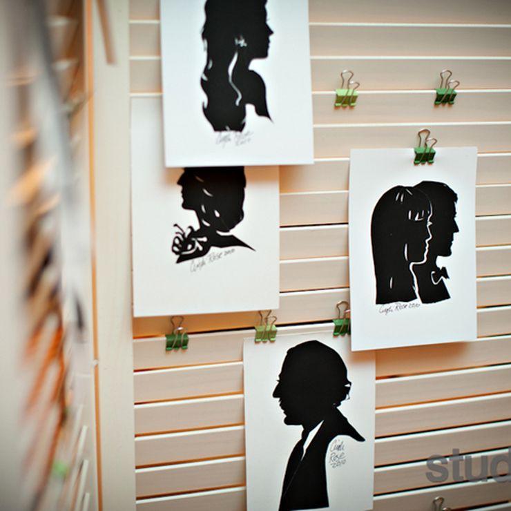 Silhouette artist Cindi Rose