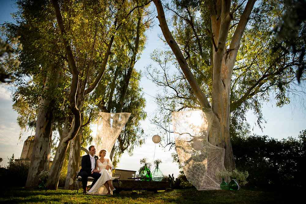 Wedding photo session decor