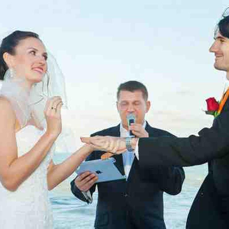 Russian wedding in Cancun