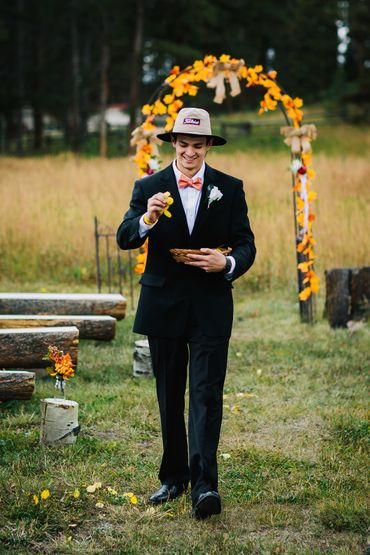 Themed black wedding photo session ideas