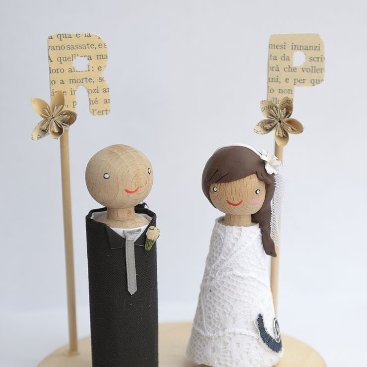 Paper wedding, literature inspired!