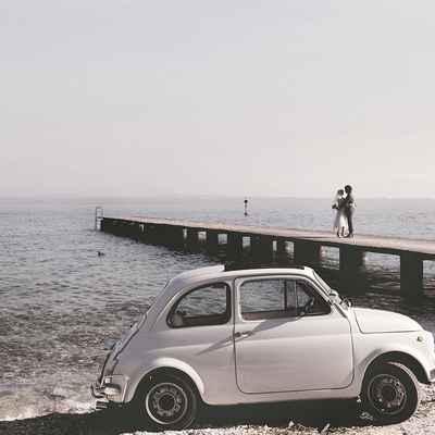 Beach wedding transport
