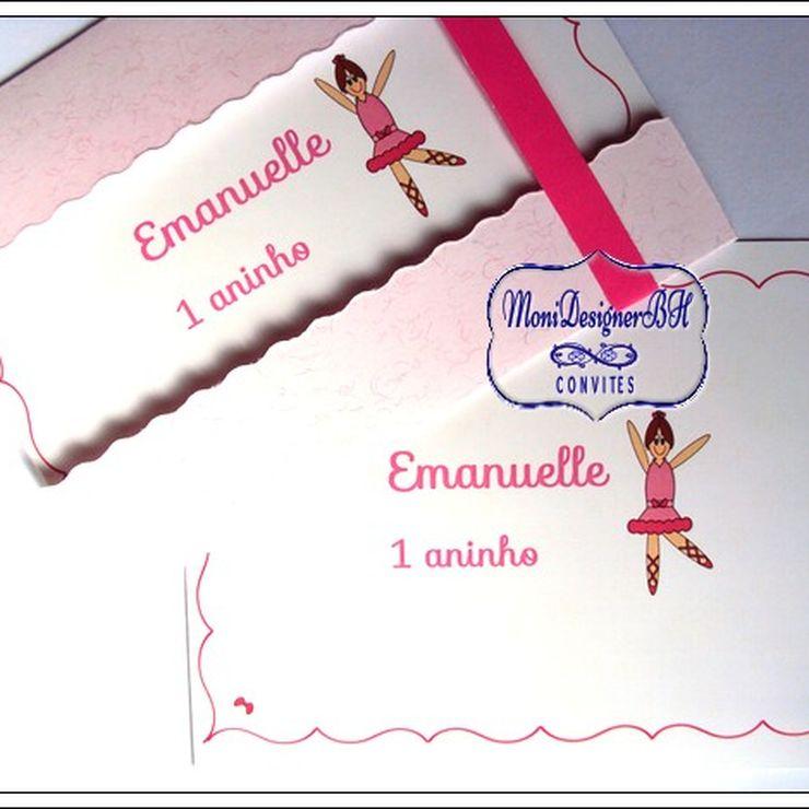 Convites Artesanais Exclusivos de Aniversário Infantil