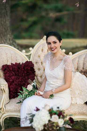 Outdoor lace wedding dresses