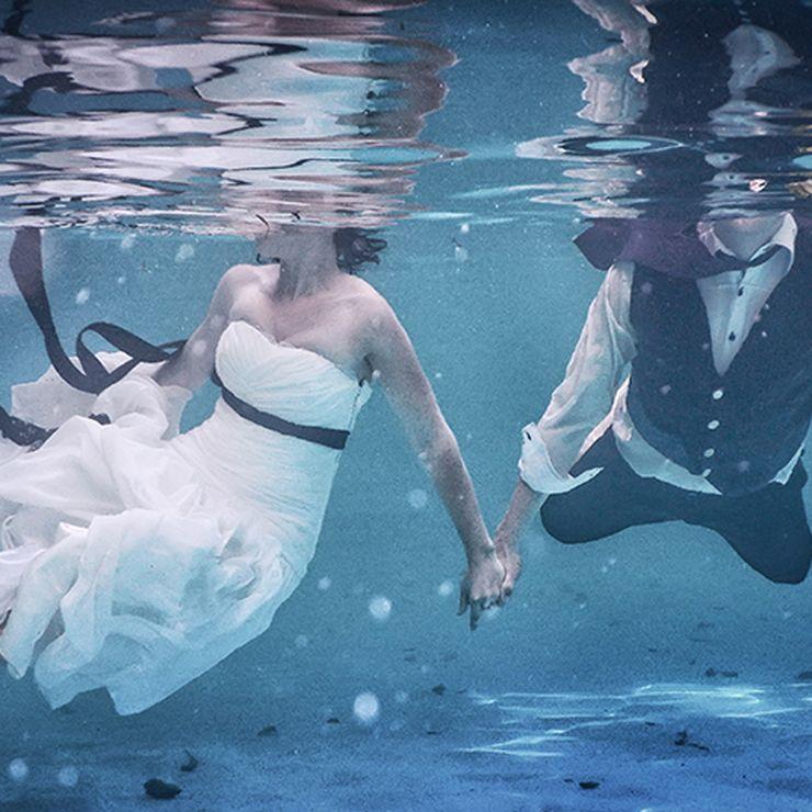 Gerrit & Mariaan underwater