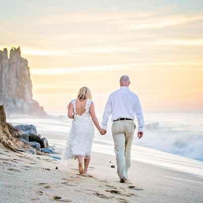 Beach white short wedding dresses