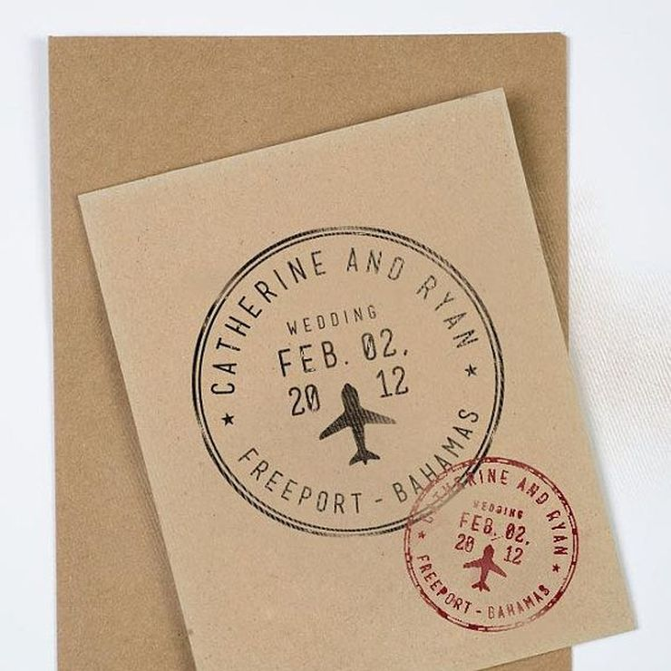 Destination Wedding Invite Ideas