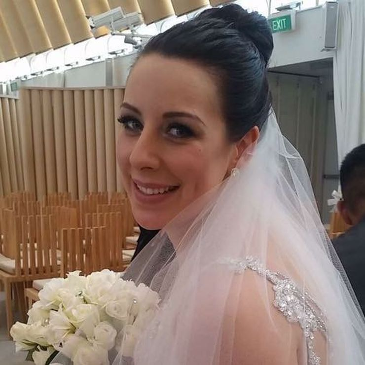 Bride Kelsey October 2015