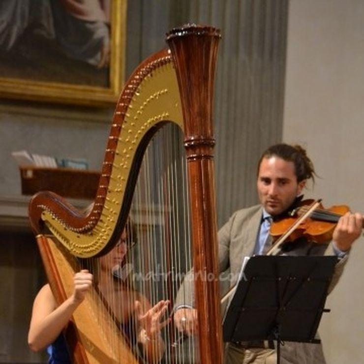 Harp music: Eleonora Pellegrini