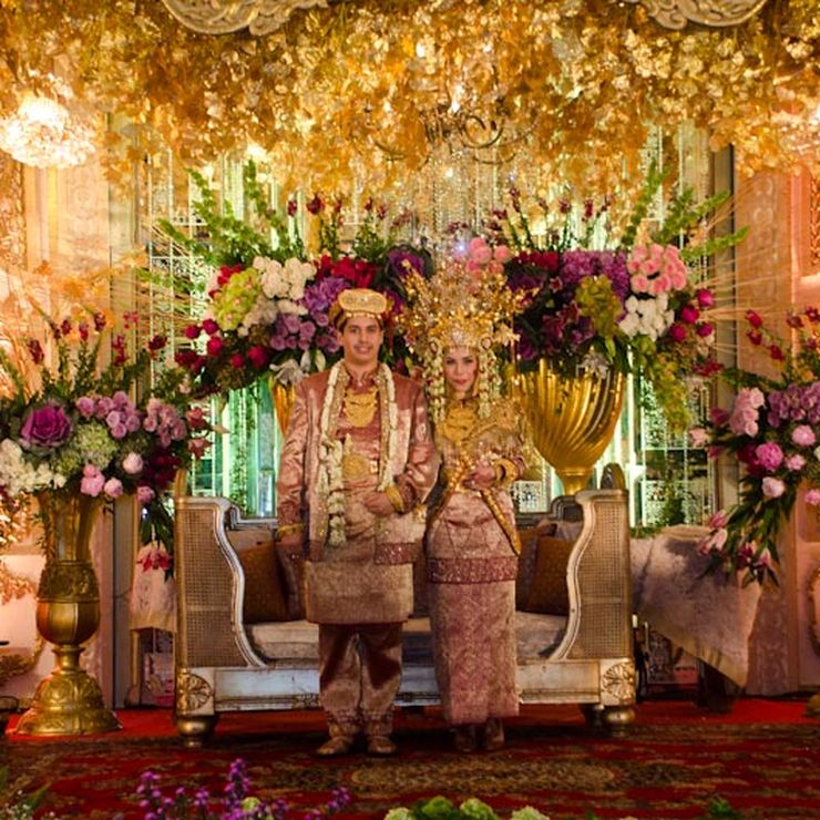 Wedding Ibrahim & Charissa, Raffless Room Balai Kartini, Jakarta
