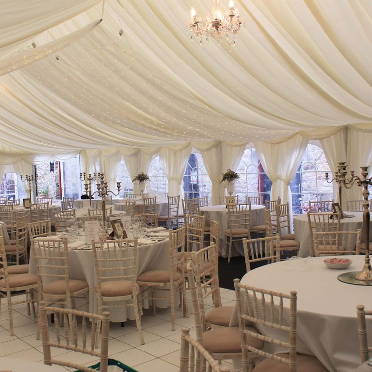 Marquee at Slieve Gullion