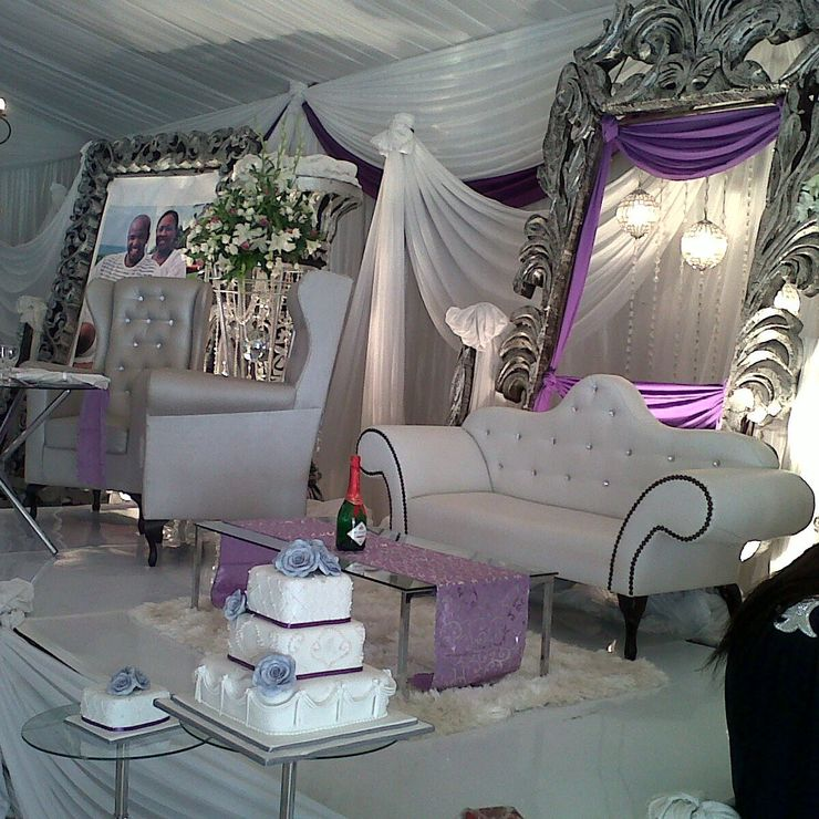 Nathi and Sma (lilac, silver & white)