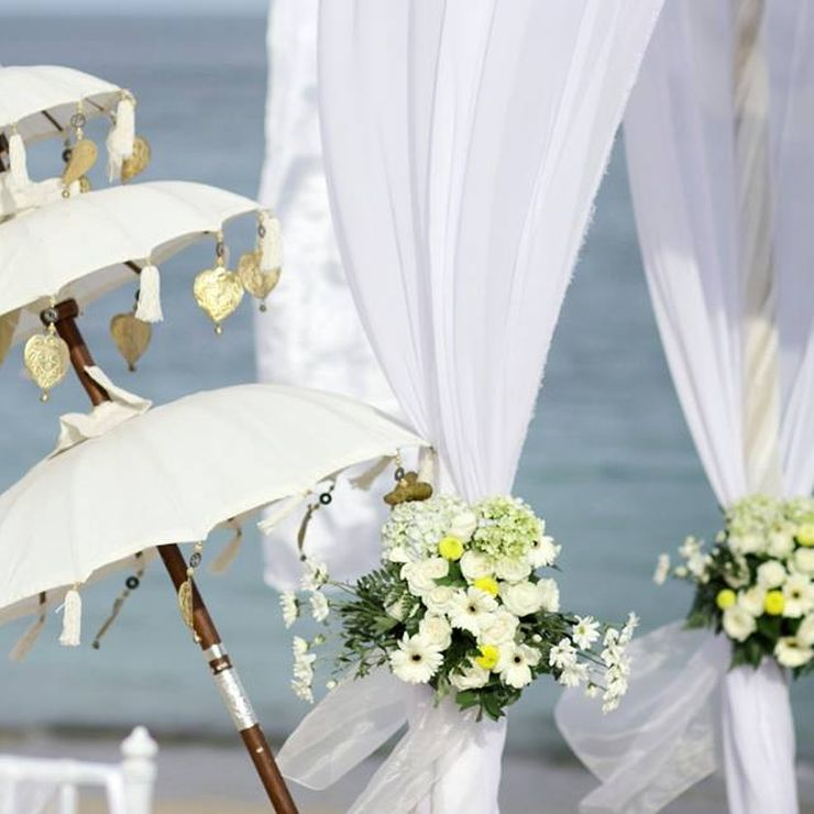 Wedding decoration Pergola, Novotel Nusa Dua Bali