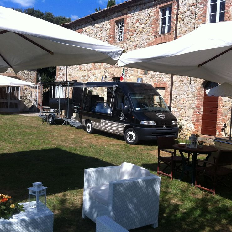 After wedding BBQ - Siena - Tuscany - Summer 2015