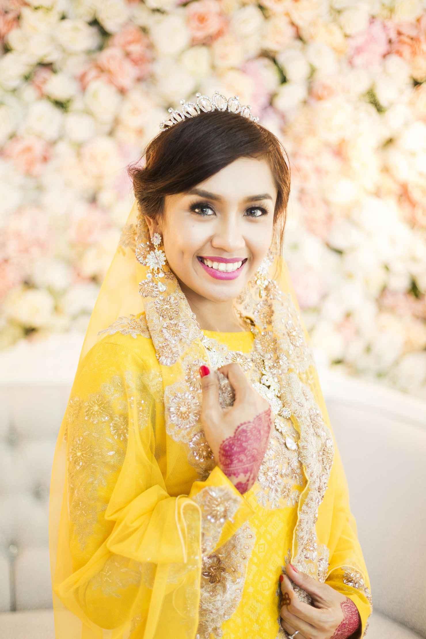 Ethnical yellow