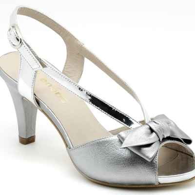 Grey wedding shoes