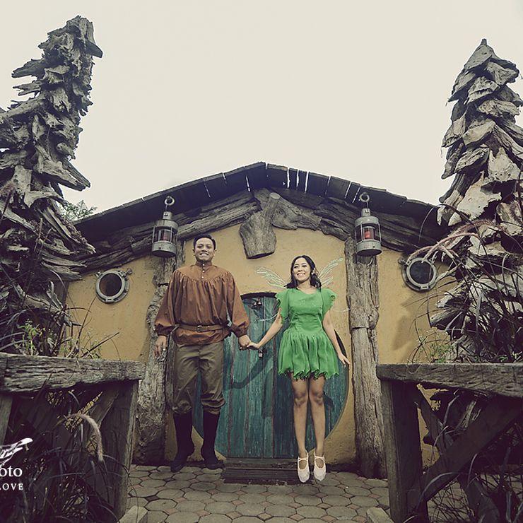 Prewedding of Andina+Tunggal