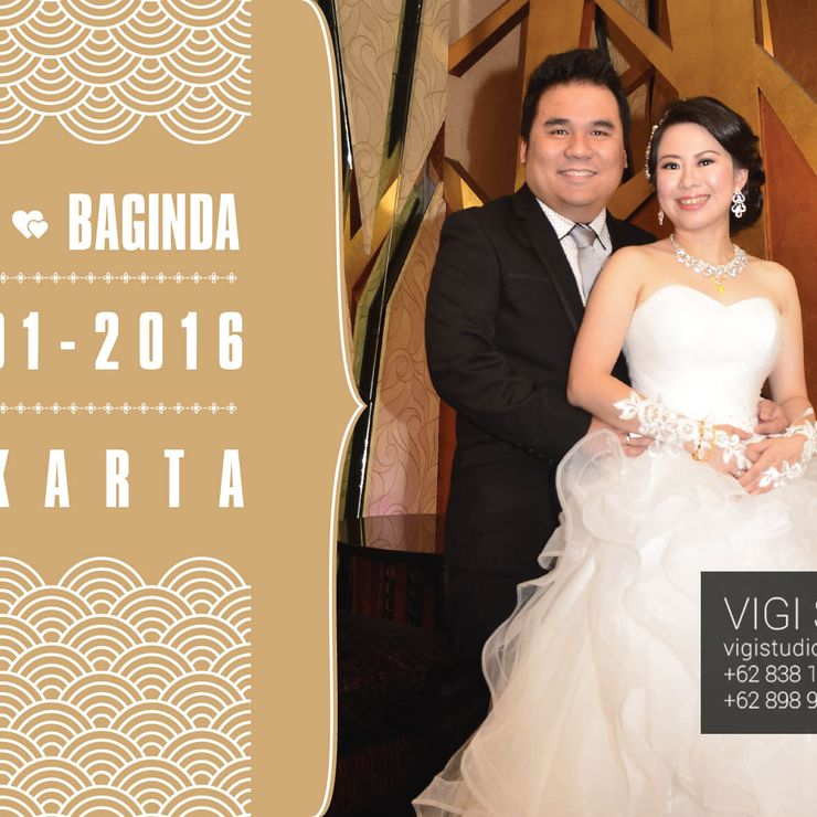 The Wedding Imelda & Baginda in Circo Room , The Sense Restaurant Jakarta