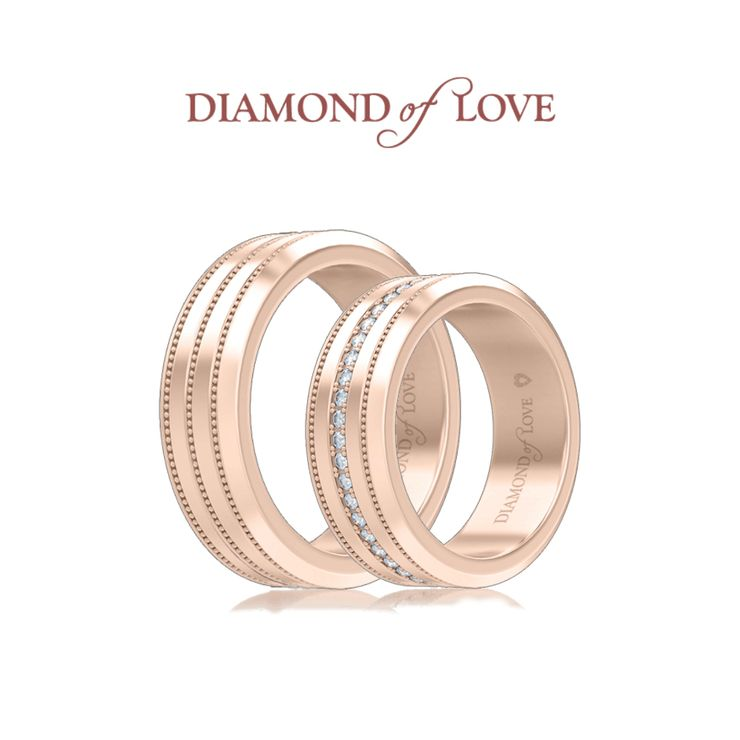 "Collection of wedding rings "" Mystery "" from the company DIAMOND of LOVE"