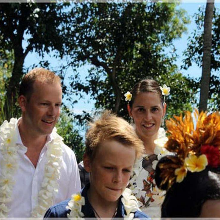 Wayne & Michele Wedding In Imaj Villa Lombok