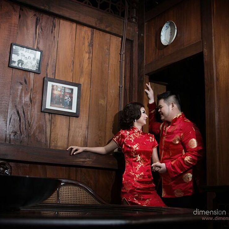 Stewart & Sesan outdoor prewedding
