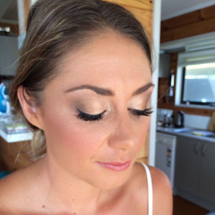 Penny's wedding makeup for Old Forest School