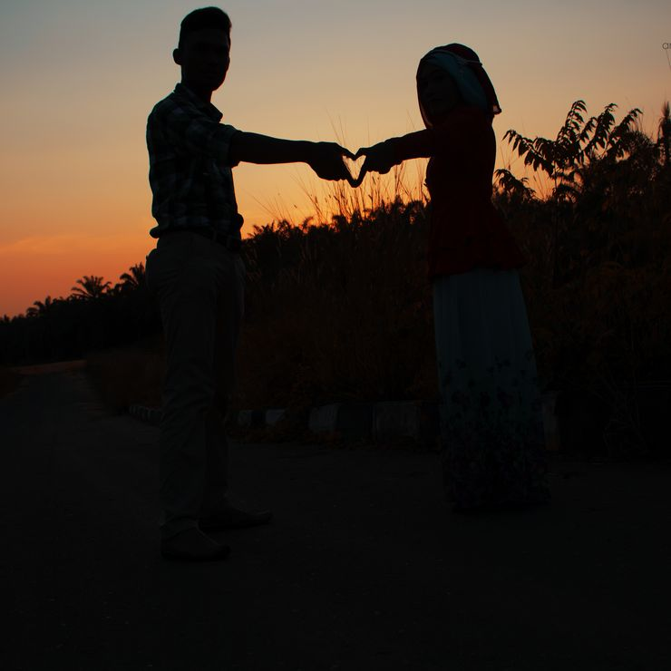 prewedding of Fandi and Tri ( Riau )