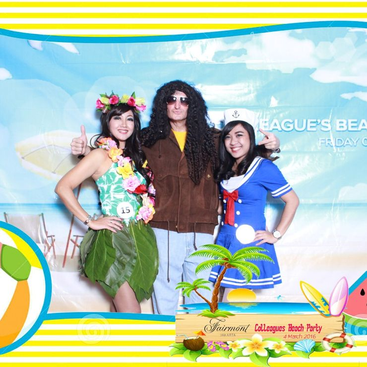 Fairmont Colleagues Beach party @fairmont hotel jakarta