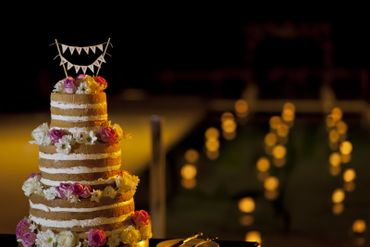 Brown wedding cakes