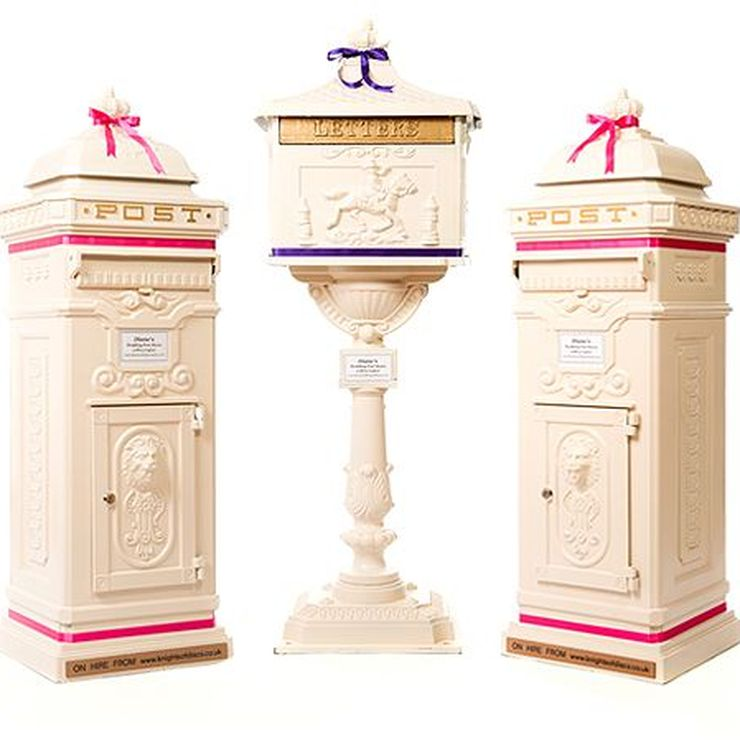 Diane's Wedding Post Boxes