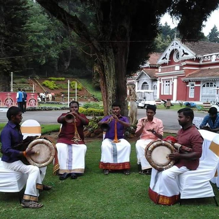 krs nadaswaram players & tavil players