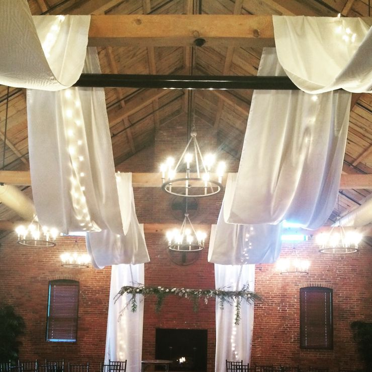 Cork Factory Hotel Ceiling Draping