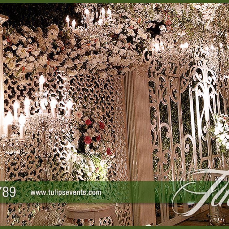 Creative Wedding Gate Stage
