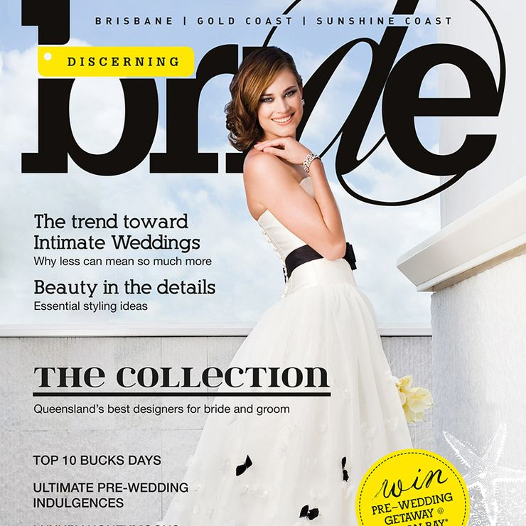 Discerning Bride Cover Shoot