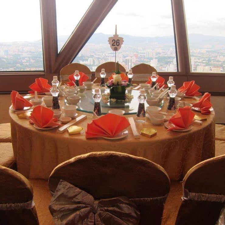 Gastronomic Skyline Wedding by RMC