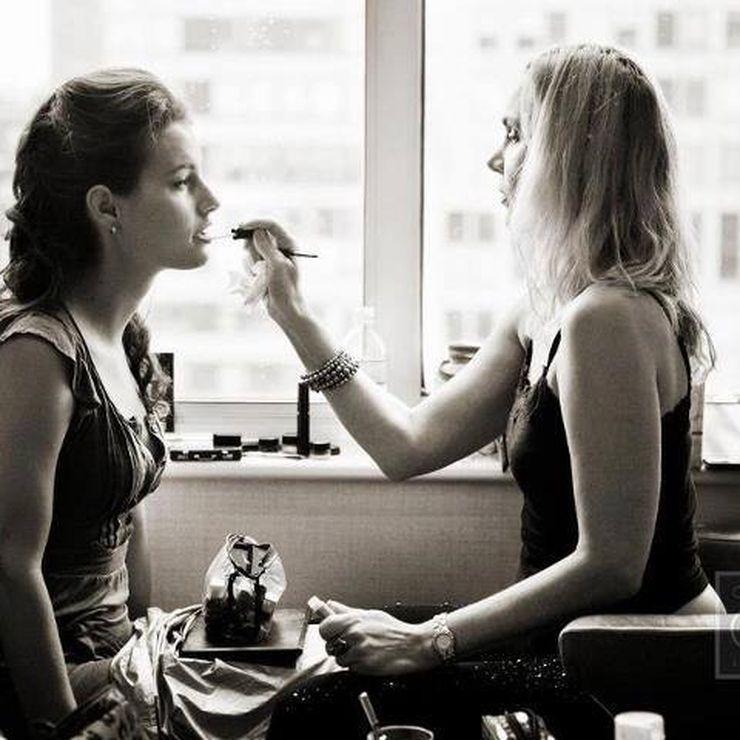 Wedding makeup by Jill Harth Beauty