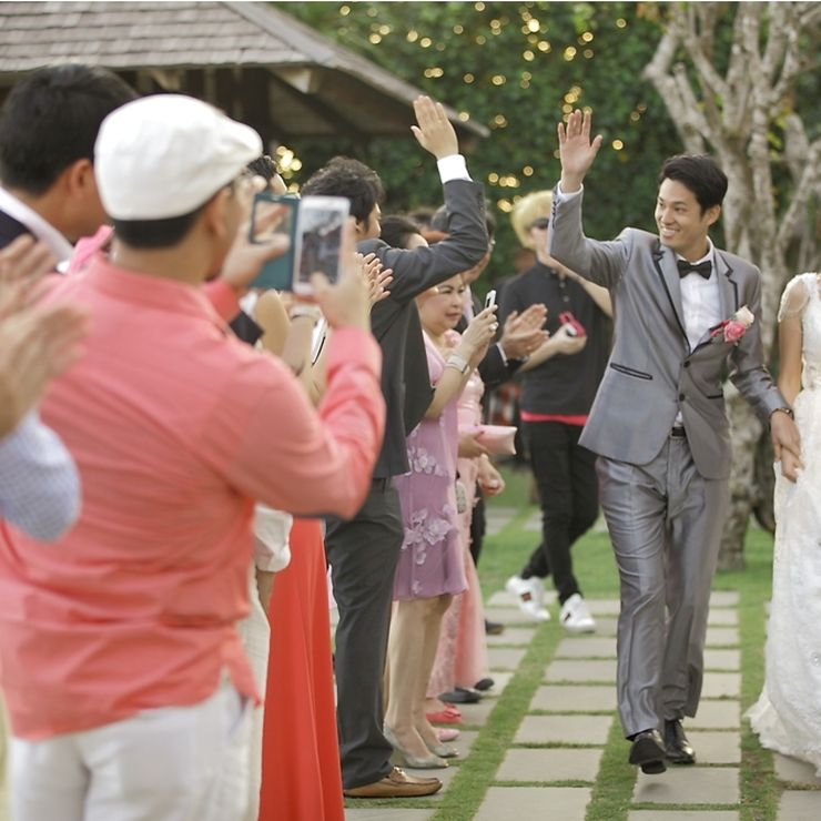 Amanda & Masaki Real Wedding Story