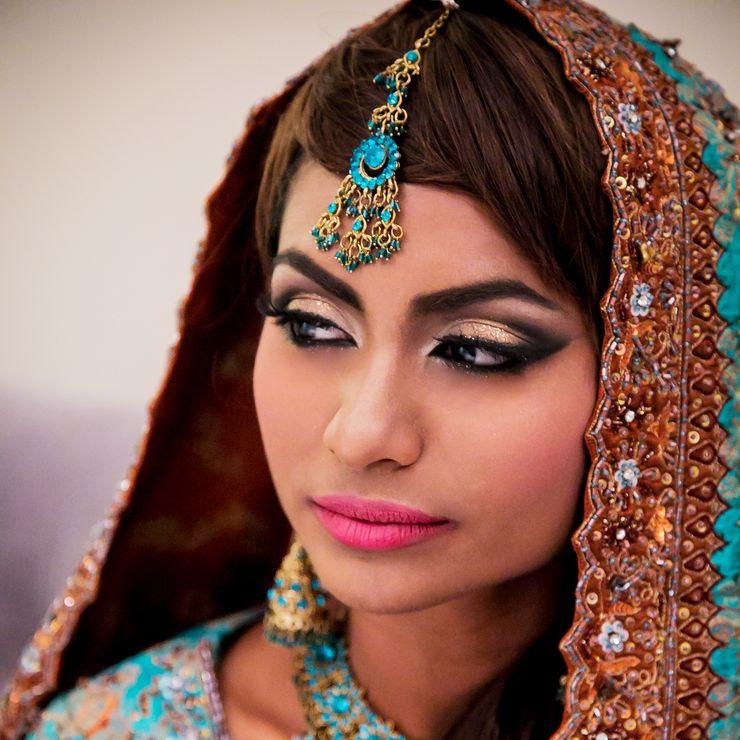 Dusky Blue Bride