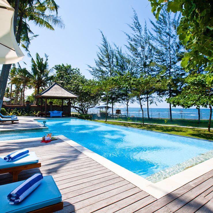 Bali Event Venue:Colonial Beachfront Villa Puri Nirwana